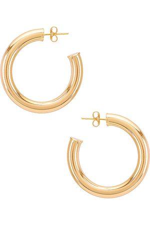 Natalie B Jewelry Adina Hoop in .