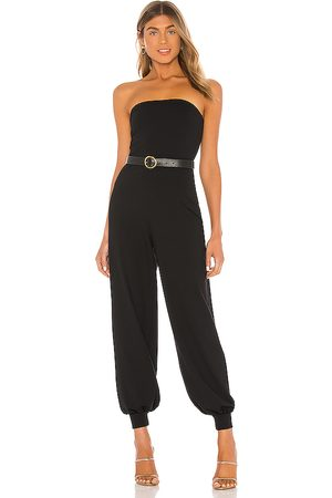 Susana Monaco Strapless Cuffed Ankle Jumpsuit in . Size M, S, XS.