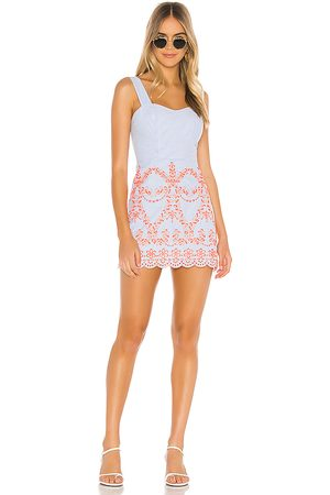 Tularosa Ari Embroidered Dress in . Size XS, S, XL.