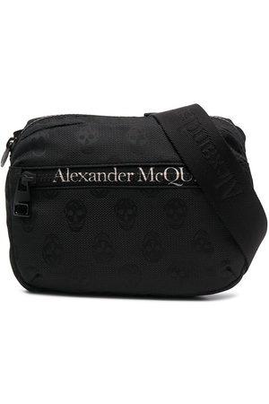 Alexander McQueen Gürteltasche mit Logo-Print