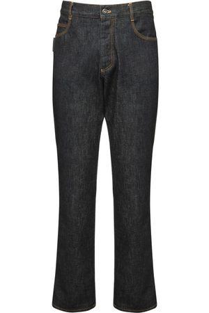 """Bottega Veneta Jeans Aus Baumwolldenim """"brut"""""""