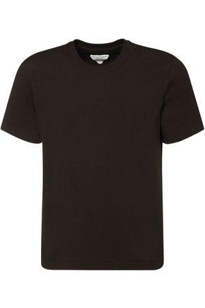 Bottega Veneta T-shirt Aus Leichtem Baumwolljersey