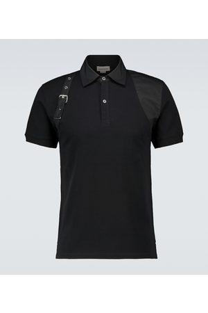 Alexander McQueen Poloshirt Harness aus Baumwolle