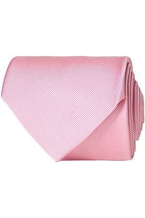 Amanda Christensen Plain Classic Tie 8 cm Pink