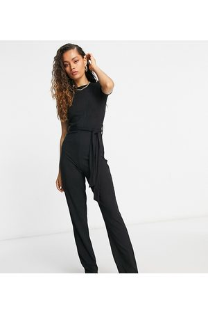 Missguided – Jumpsuit mit Schlag in
