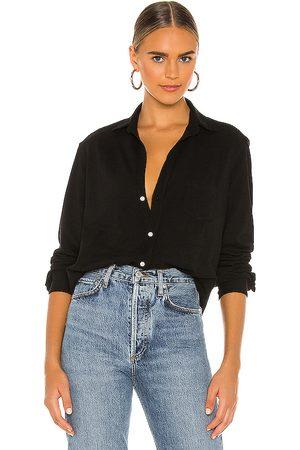 FRANK & EILEEN Eileen Knit Button Down Shirt in . Size XS.
