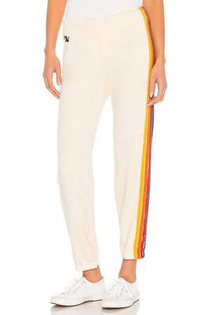 AVIATOR NATION 5 Stripe Sweatpant in . Size XS, S, M.