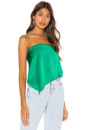 superdown Damen T-Shirts, Polos & Longsleeves - Cora Asymmetrical Top in . Size XS.