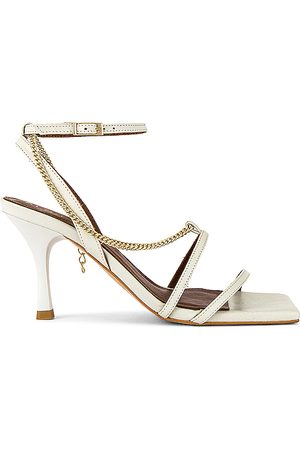 ALOHAS Straps Chain Heel in . Size 37, 38, 39.