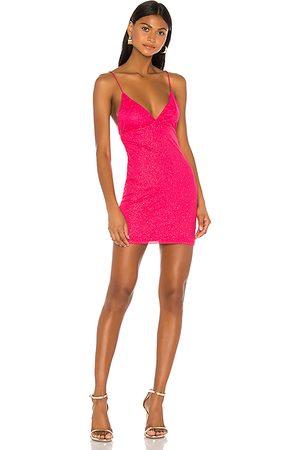 superdown Sydney Sparkle Mini Dress in . Size XXS, XS, S, XL.