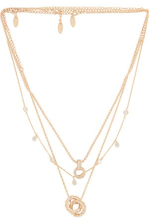 Ettika Layered Pendant Necklace in .