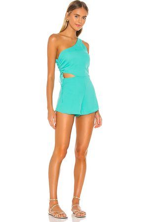 superdown Aimey One Shoulder Romper in . Size XXS, XS, S, M, XL.