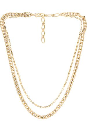 Amber Sceats Layered Chain Necklace in .