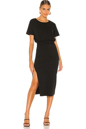Lovers + Friends Easy Ruched Midi Dress in . Size XS, S, M.