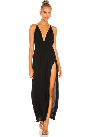 Indah Damen Kleider - River Solid Triangle Plunge Dress in . Size S/M.
