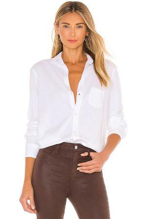 FRANK & EILEEN Eileen Knit Button Down Shirt in . Size XS, S, M.
