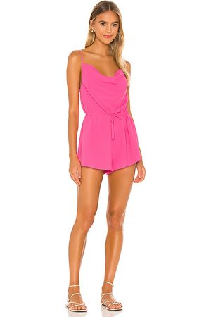 superdown Camari Cowl Neck Romper in . Size XXS, XS, S, M, XL.