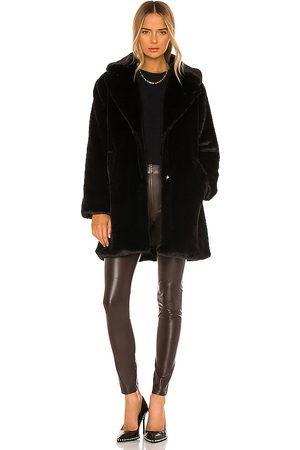 LaMarque Linnea Faux Fur Coat in . Size S, M.