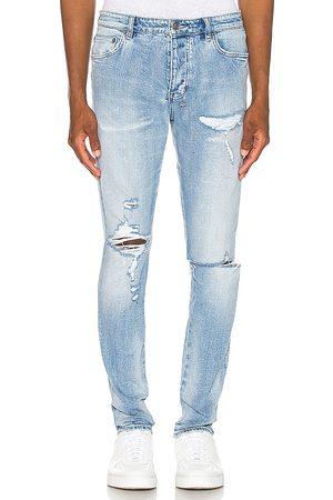 KSUBI Chitch Punk Blue-Jeans im Destroyed-Look in . Size 31, 32, 34, 36.