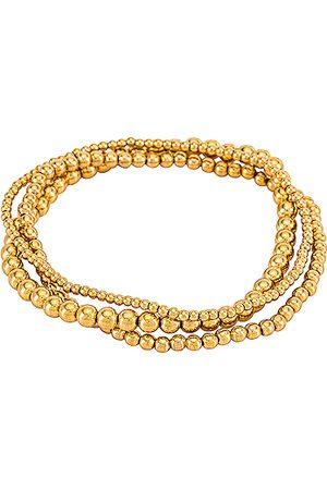 Natalie B Jewelry Bella Trois Bracelet Set in .