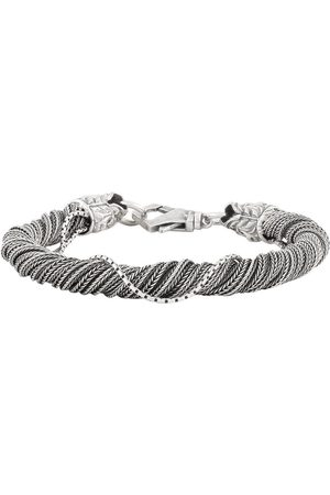 EMANUELE BICOCCHI Torsion bracelet in silver