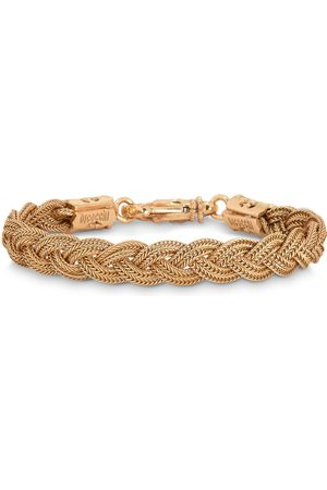EMANUELE BICOCCHI Gold plated braided bracelet