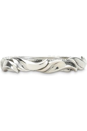 EMANUELE BICOCCHI Silver waves ring
