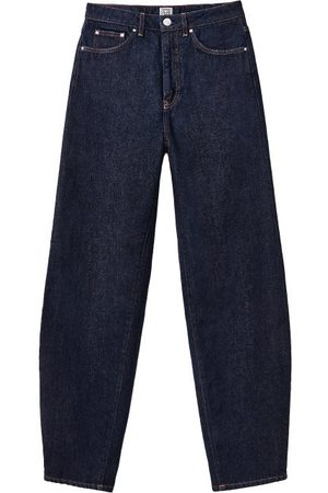 Totême Damen Straight - High-rise Barrel-leg Jeans