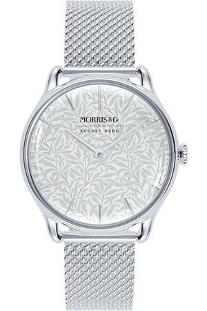 August Berg Uhr 'MORRIS & CO Silver Willow Boughs Mesh 30mm