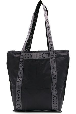 VeeCollective Damen Handtaschen - Handtasche mit Logo-Patch