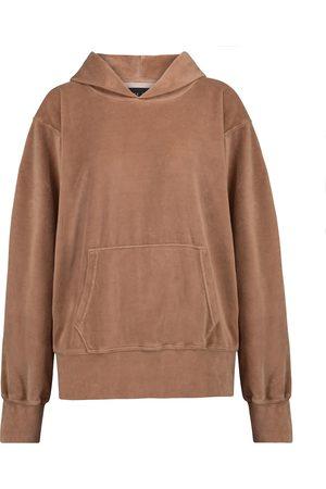 Les Tien Damen Sweatshirts - Hoodie aus Samt
