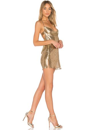 h:ours Imogen Chainmail Dress in .