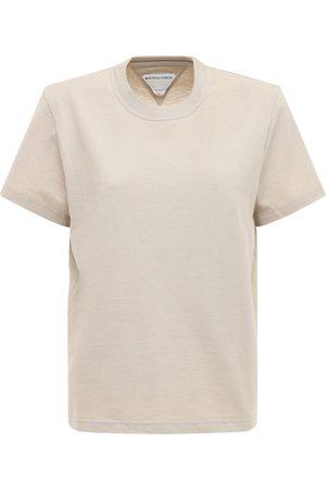 Bottega Veneta Leichtes T-shirt Aus Baumwolle