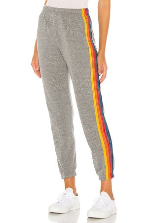 AVIATOR NATION 5 Stripe Sweatpants in . Size M, S, XS.