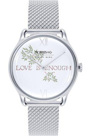 August Berg Uhr MORRIS & CO 'Silver Love is Enough Mesh 30mm