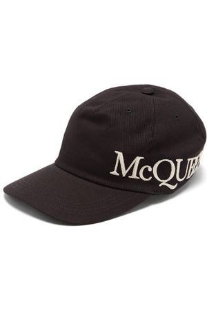 Alexander McQueen Logo-embroidered Cotton-canvas Cap