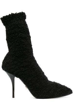 Dolce & Gabbana Damen Stiefeletten - Stiefel mit Stiletto-Absatz
