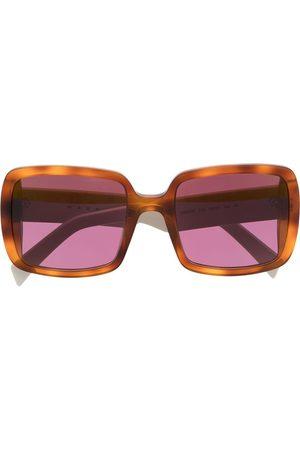 Marni Eckige Oversized-Sonnenbrille