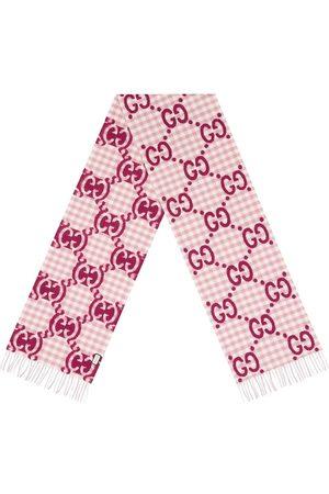 Gucci Karierter Schal mit GG