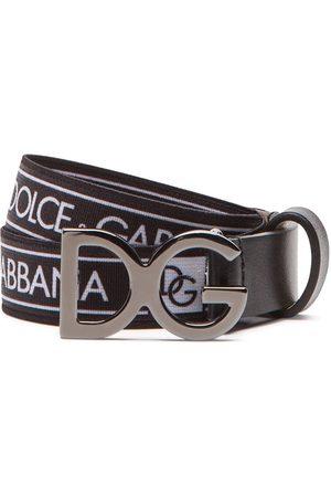 Dolce & Gabbana Gürtel mit Logo-Print