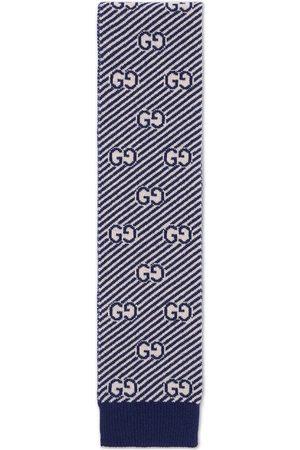 Gucci Intarsien-Schal mit GG