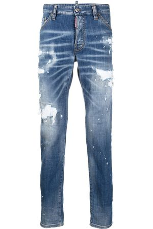 Dsquared2 Herren Slim - Schmale 'Icon' Distressed-Jeans