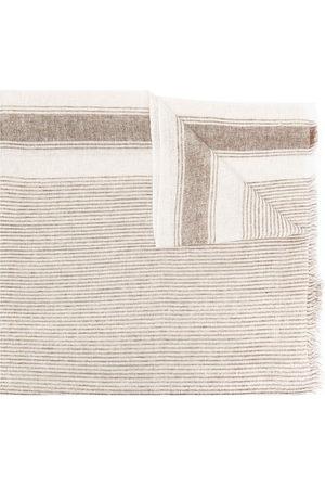 Brunello Cucinelli Damen Schals - Gestreifter Schal