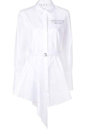 OFF-WHITE Damen Freizeitkleider - Kleid mit asymmetrischem Saum