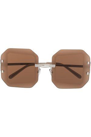 Marni Eyewear Oversized-Sonnenbrille