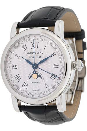Mont Blanc Star Steel Moonphase' Armbanduhr, 44mm