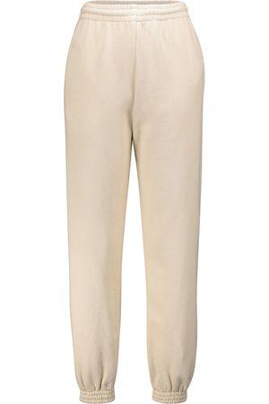OFF-WHITE Damen Jogginghosen - Bedruckte Jogginghose aus Baumwolle