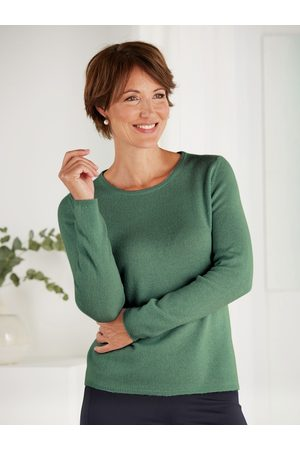 Avena Damen Strickpullover - Damen Kaschmir-Seide Premium Pullover