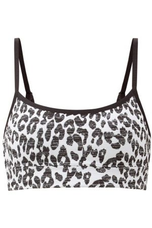 The Upside Natacha Snow-leopard Low-impact Sports Bra