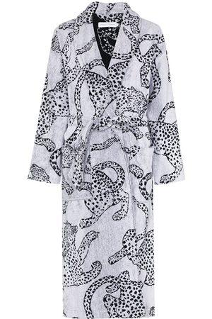 Desmond & Dempsey Damen Schlafanzüge - Bademantel mit Print